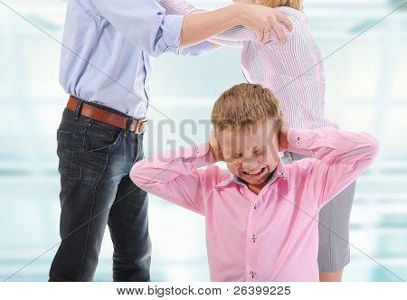 Parents share child.