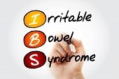 Ibs - Irritable Bowel Syndrome, Acronym Health Concept Background poster