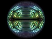 pic of zygote  - Chaos cope generated fractals zygote - JPG
