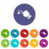 Cursor Movement Icon. Simple Illustration Of Cursor Movement Vector Icon For Web poster