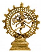 stock photo of vedic  - Statue of indian hindu god Shiva Nataraja  - JPG