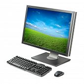 picture of workstation  - PC computer  - JPG