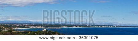 Argeles Plage Panorama