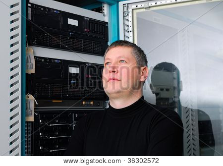 It Technician In The Data Center