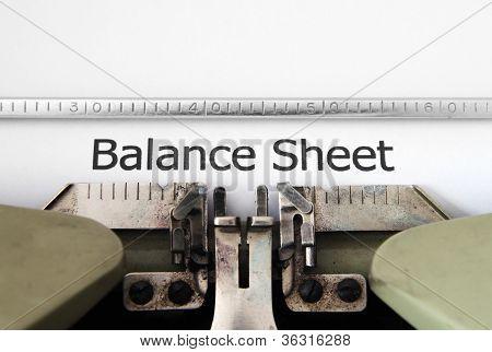 Do balanço