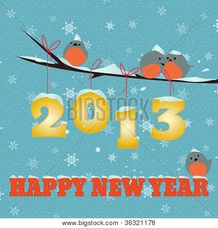 Birdies Happy new year 2013