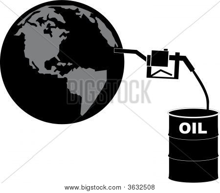 Barrel Of Oil Fueling The Globe.