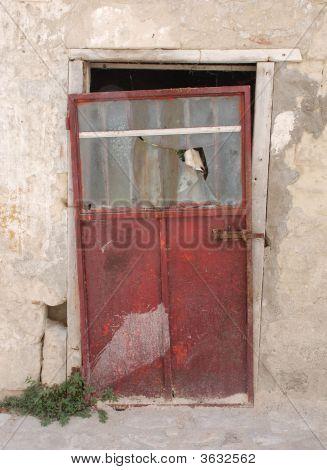 Door In Caveoso Sassi In Matera