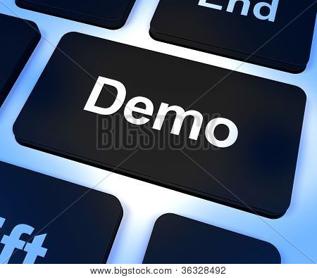 Demo Computer Key To Download A Version Of Software