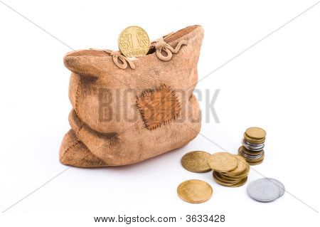 Coin And A Piggy Bank