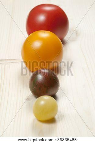 Four Round Tomatos