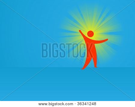 Idea - Conceptual Abstract Vector Illustration
