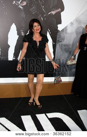 Los Angeles - AUG 15:  Jackie Stallone arrives at the