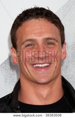 Los Angeles - AUG 15:  Ryan Lochte arrives at the