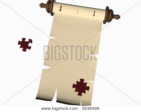 Puzzle Scroll