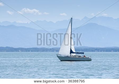 An image of the Starnberg Lake in Germany