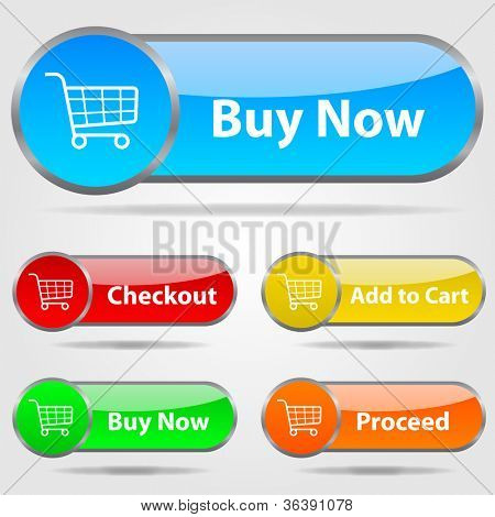 Shopping Checkout Buttons