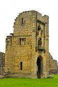 Ruins of Medieval Castle--Warkworth