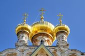 foto of church mary magdalene  - The Church of Mary Magdalene in Jerusalem - JPG