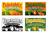 vintage vegetable labels