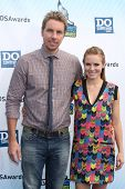 Los Angeles - AUG 19:  Dax Shepard, Kristen Bell arrives at the 2012 Do Something Awards at Barker H