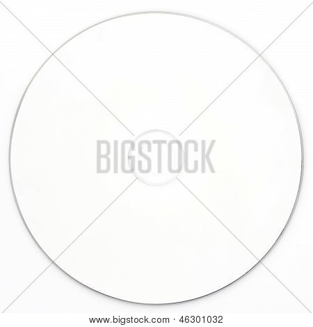 Blank White Dvd Cd