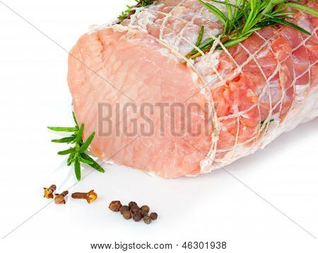 Raw Chine Of Pork