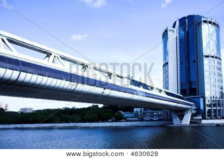 Bridge And Skyscraper