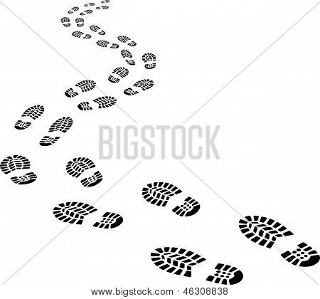 Receding Footprints