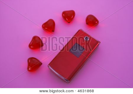 Mobile And Hearts