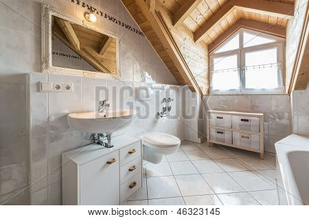 Banheiro de um apartamento