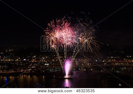 Portland Fourth of July Fireworks
