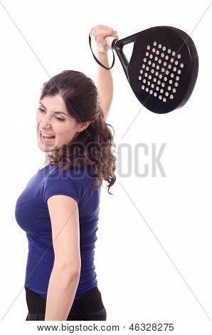 Feminine Paddle Tennis