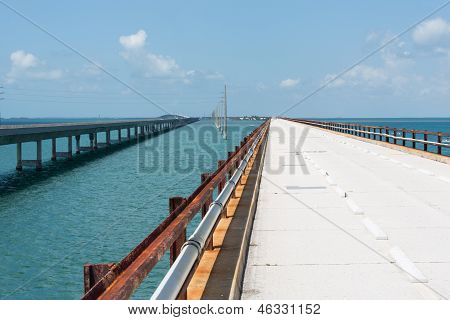 The Historic Seven Mile Bridge