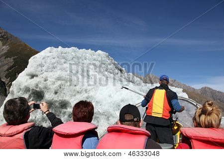 Iceberg Tourism - Tasman Lake New Zealand