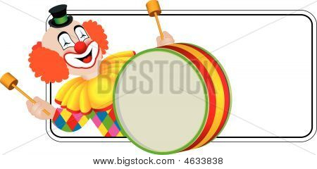 Clown The Drummer