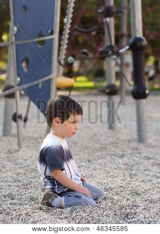 Lonely Bored Child