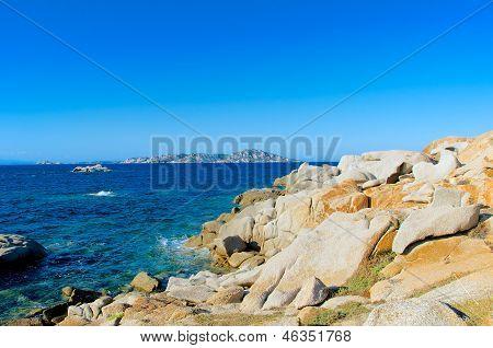 Isola Dei Gabbiani Bay, Sardinia, Italy