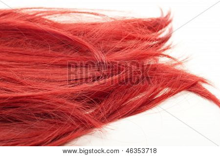 Beautiful And Red Spiky Hair