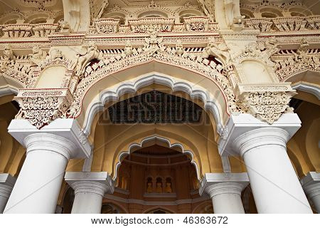 Arches Of Thirumalai Palace
