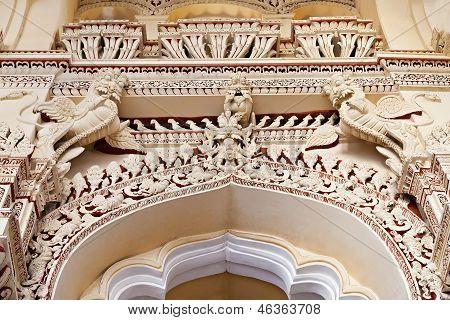 Arches Of Thirumalai Palace