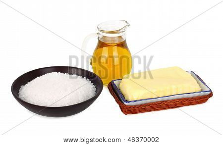 Butter With Salt And Oil