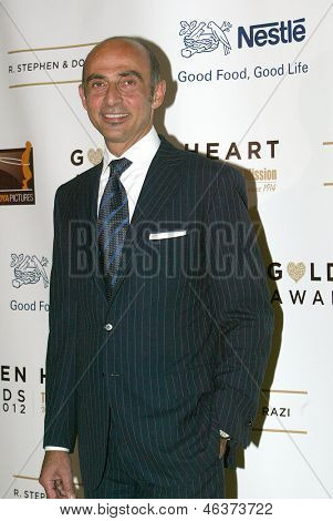 BEVERLY HILLS - MAY 7: Shaun Toub arrives at The 12th Annual Golden Hearts Awards presented by The Midnight Mission on Monday, May 7, 2012 at the Beverly Wilshire Hotel in Beverly Hills, CA.