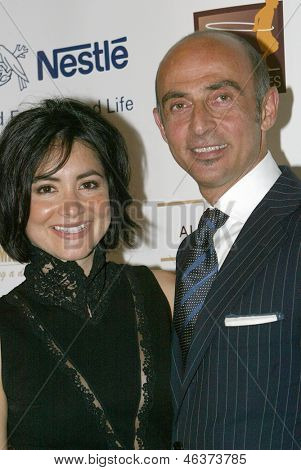 BEVERLY HILLS - MAY 7: Shaun Toub and wife arrive at The 12th Annual Golden Hearts Awards presented by The Midnight Mission on Monday, May 7, 2012 at the Beverly Wilshire Hotel in Beverly Hills, CA.