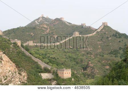 Great Wall Of Simatai In China