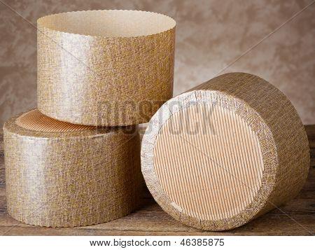 Papier Formen für Panettone