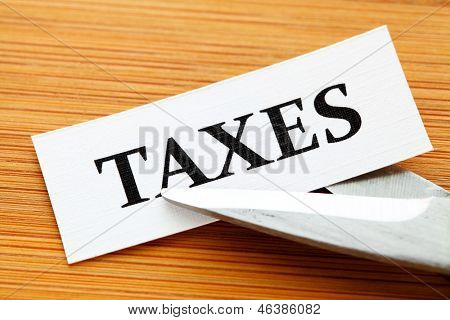 Taxes deduct