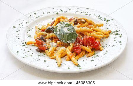 Receta de Pasta Italiana scialatielli All'amalfitana