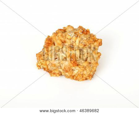 Pastry On White Background