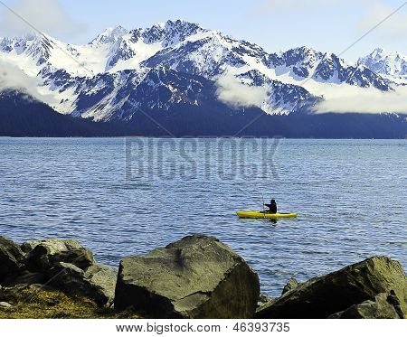 Sea kayaker